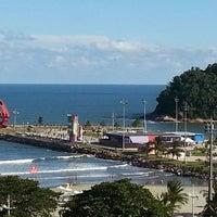 Photo taken at Praia do José Menino by Pedro C. on 5/26/2013