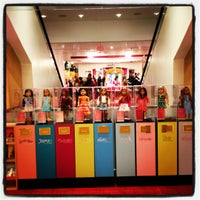 Photo taken at American Girl Place by Jason M. on 11/25/2012