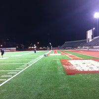 Photo taken at Cromwell Field & Loker Track Stadium by Pradeep N. on 1/28/2013