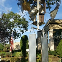 Photo taken at Plainview-Old Bethpage Public Library by Train with Tami R. on 9/11/2016