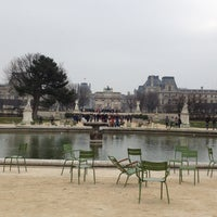 Photo taken at Tuileries Garden by Stas P. on 3/2/2013