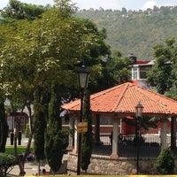 Photo taken at San Pedro Atocpan by Rodrigo P. on 10/13/2013