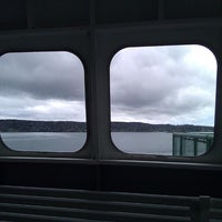 Photo taken at M/V Hyak (Washington State Ferry) by Daniel M. on 5/4/2014