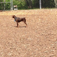 Photo taken at Happy Valley Dog Park by Nancy R. on 5/7/2014