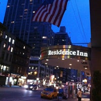 Photo taken at Residence Inn New York Manhattan/Times Square by Orsini G. on 8/6/2013