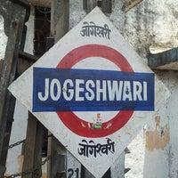 Photo taken at Jogeshwari Railway Station by Seema D. on 5/21/2013