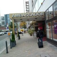 Photo taken at SORAT Hotel Ambassador Berlin by Michael M. R. on 10/25/2013