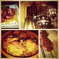 Photo taken at Kous Kous Moroccan Bistro by Melonie G. on 12/7/2012