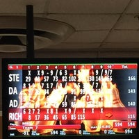 Photo taken at Rolling Lanes Bowling Alley by Dave M. on 5/6/2016