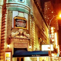 Photo taken at Booth Theatre by Lauren S. on 9/28/2012