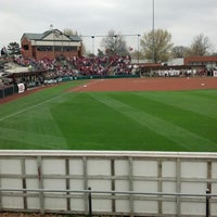 Photo taken at Marita Hynes Field at the OU Softball Complex by Lucas H. on 4/7/2013