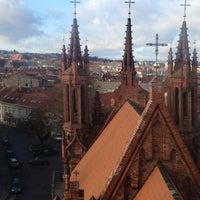 Photo taken at Šv. Onos Bažnyčia | St Anne's Church by Tadas G. on 11/12/2012
