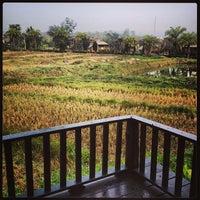 Photo taken at Pai Herb Resort by Benz S. on 1/18/2014