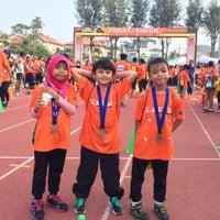 Photo taken at Kompleks Sukan MPSJ by Irwan A. on 9/20/2015