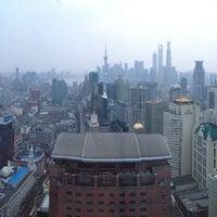 Photo taken at Le Royal Méridien Shanghai   上海世茂皇家艾美酒店 by Peter K. on 4/9/2013