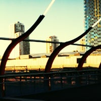 Photo taken at Southern Cross Station by Pedah M. on 6/22/2013