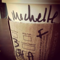 Photo taken at Starbucks by Michelle C. on 1/3/2013