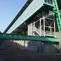 Photo taken at Icahn Stadium by Makks D D. on 5/21/2013