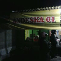 Photo taken at Burjo Andeska 01 by trayaalmodjarot on 12/2/2013