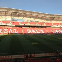 Photo taken at Rio Tinto Stadium by Sharlene C. on 7/21/2013
