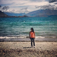 Photo taken at Lake Wanaka by Patrícia N. on 12/31/2012