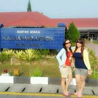 Photo taken at Bandara H. A. S. Hanandjoeddin (TJQ) by Dewi P. on 9/30/2012