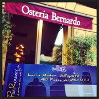 Photo taken at Osteria Bernardo by blog100days on 6/28/2013