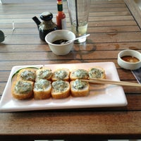 Photo taken at Sushi Roll by Eric N. on 1/27/2013