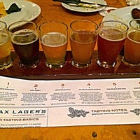 Photo taken at Max Lager's Wood-Fired Grill & Brewery by Carlos G. on 8/31/2015