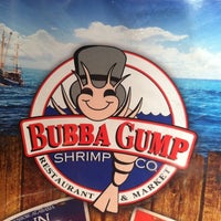 Photo taken at Bubba Gump Shrimp Co. by Jeanne B. on 4/4/2013