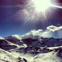 Photo taken at Valle Nevado by Juan Carlos L. on 6/29/2013