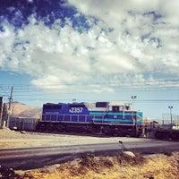 Photo taken at Cruce ferroviario Lo Blanco by Eduardo G. on 3/30/2014