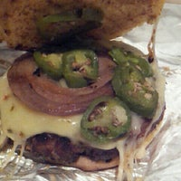 Photo taken at Ray's Hell Burger by Dan R. on 12/16/2012