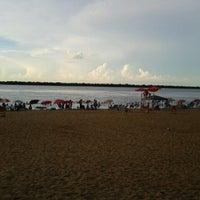 Photo taken at Playa Punta Norte by Alejandro C. on 12/28/2013