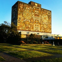 Photo taken at Universidad Nacional Autonoma de Mexico by Grecia S. on 10/26/2012