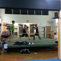 Photo taken at Combat Kickboxing by Alex S. on 3/11/2014