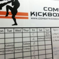 Photo taken at Combat Kickboxing by Alex S. on 1/9/2014