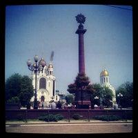 Photo taken at Кафедральный Собор Христа Спасителя by Petr PMS on 7/9/2013