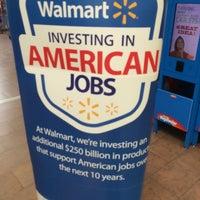 Photo taken at Walmart Supercenter by Marc M. on 8/2/2014
