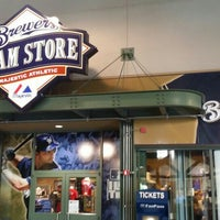 Photo taken at Brewers Team Store by Majestic Athletic by JP W. on 7/22/2015