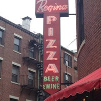 Photo taken at Regina Pizzeria by Robert N. on 5/24/2013