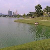 Photo taken at Taman Tasik Ampang Hilir by Anis K. on 3/25/2013