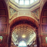Photo taken at Royal Exhibition Building by SHOPSUI by Sylvia Tai on 8/1/2013