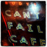 Photo taken at Rudy's Can't Fail Cafe by George K. on 9/16/2012