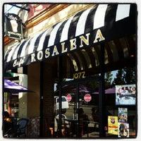 Photo taken at Cafe Rosalena by George K. on 9/26/2012