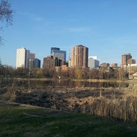 Photo taken at Loring Park by Pranam S. on 5/6/2013