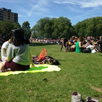 Photo taken at London Fields by Antonio E. on 6/30/2013