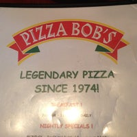 Photo taken at Pizza Bob's by Dino K. on 2/25/2013