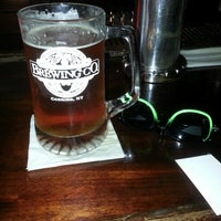 Photo taken at Market Street Brewing Company by Jeffrey H. on 5/10/2013