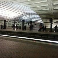 Photo taken at Metro Center Metro Station by Chuck O. on 1/28/2013